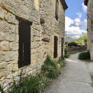 Ruelle village Larressingle gers